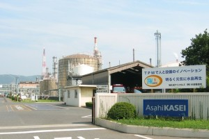 工場見学(旭化成(株)水島製造所)