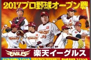 プロ野球オープン戦「みんなで行こう!!プロ野球 in倉敷」