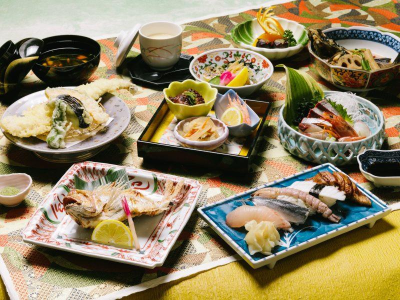 「倉敷みらい旅」[瀬戸内海鮮料理 白壁]の御膳料理を豪華会席料理にグレードアッププラン