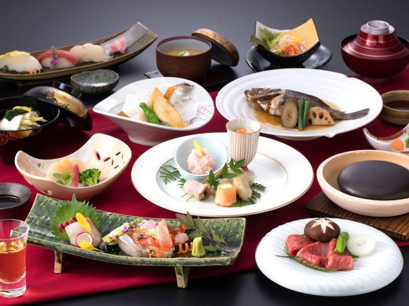 ¥11,000ディナー付プラン(フレンチコースor日本料理会席)