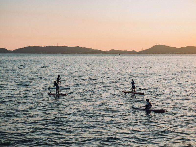 【倉敷みらい旅】瀬戸内海に身体と心を浮かべるSUP体験宿泊券