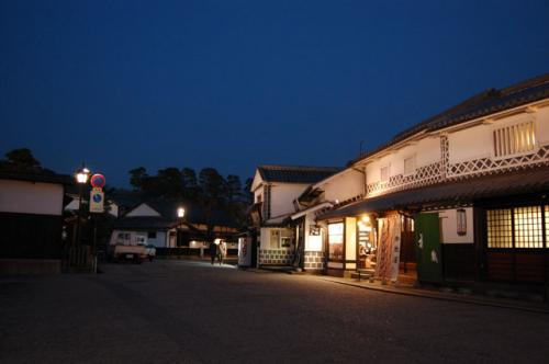 倉敷夜間景観照明