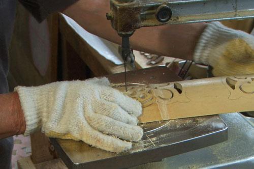 真備町の特産品 「竹細工」