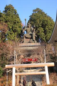 寅年に寅のお寺に初詣に行ってきました。