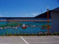 備中綿と懐かしの玉島大壁画