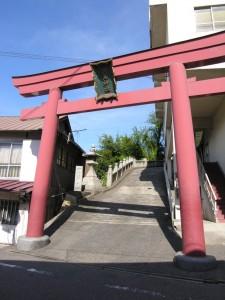 玉島羽黒神社天神祭りの海上渡御