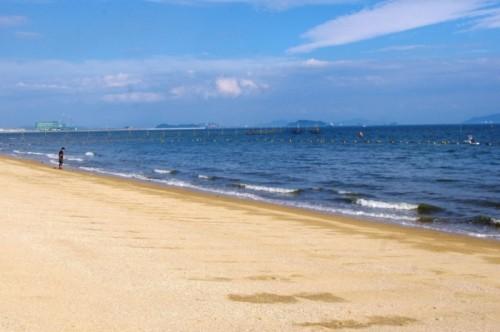 日本最初の海水浴場 沙美海水浴場