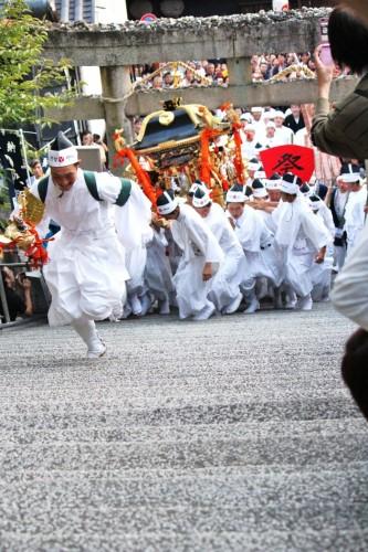 倉敷秋祭「お山入り」 阿智神社2012