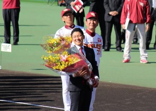 東北楽天ゴールデンイーグルス秋季キャンプ in 倉敷2012