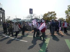 JR西日本「駅から歩こう」ウォーキングに参加しました