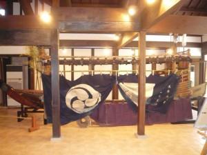 西爽亭で江戸時代の「御船だんじり」