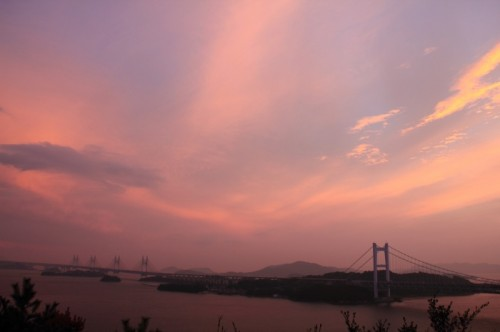 SUNSET FESTA in KOJIMA ~鷲羽山から夕日と音のコンチェルト~