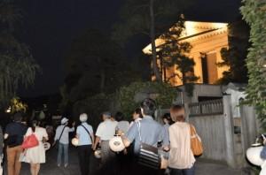 倉敷美観地区夜間ガイド