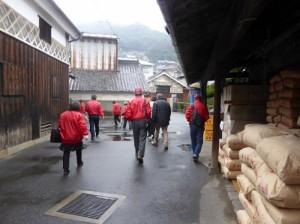 児島観光ガイド協会の研修が行われました