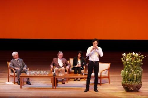 ダニエル・オストの花と心~東洋と西洋の美の融合~倉敷まちづくり講演会2014