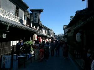 倉敷屏風祭と秋季例大祭が開催されました。