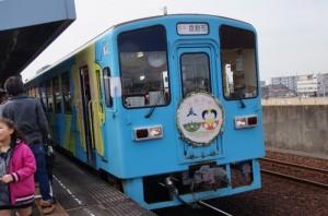 水島雛めぐり 雛列車出発セレモニーの開催