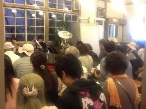 倉敷館コンサートが始まりました。