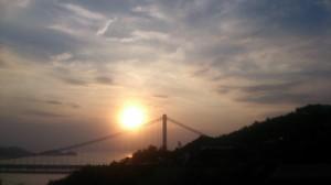 夕陽のまち・児島