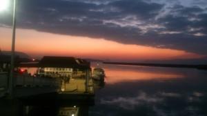 2017年 初日の出と瀬戸大橋を遊覧船でクルージング