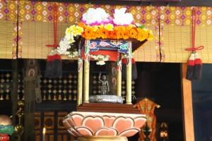 仏生会・山上山大権現大護摩(旧暦4月8日)