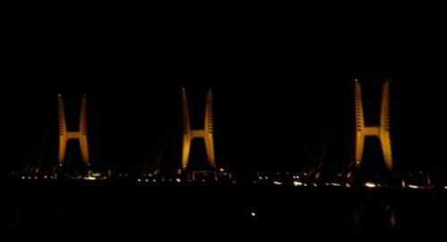 鷲羽山から瀬戸大橋の眺望