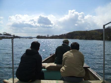 「水江の渡し」と「愛宕山」周辺を散策