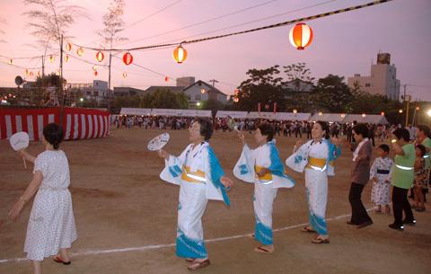児島地区の盆踊り