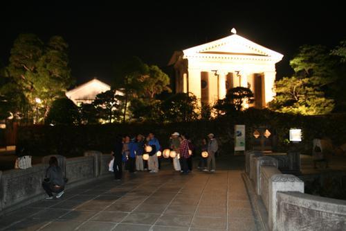 夜の美観地区観光