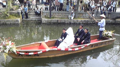 川舟船上ウェディング  ~くらしきSHIKI-CON~