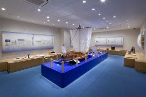玉島市民交流センター歴史民俗海洋資料展示室イメージ クリックで詳細ページへ