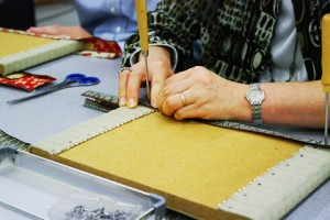 畳縁製造工場の見学とミニ畳製作体験(高田織物㈱)イメージ クリックで詳細ページへ