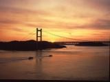 瀬戸内海の夕景と水島コンビナート工場夜景クルージングの写真2