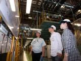 工場見学(三菱自動車工業(株)水島製作所)の写真02