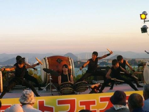 サンセットフェスタinこじま~王子が岳 夕陽のしらべ〜の写真2