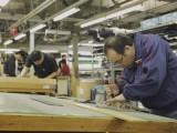 スクールユニフォーム工場の見学(菅公学生服㈱倉敷工場)