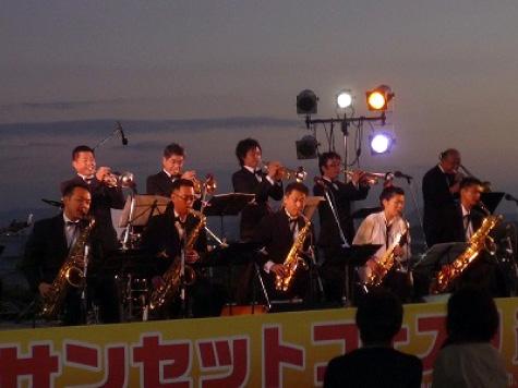 サンセットフェスタinこじま~鷲羽山からの夕陽と音のコンチェルト〜の写真4