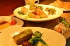 地元食材たっぷりのSwanディナー