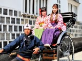 「お姫さま体験」「矢絣はかま体験」(いがらしゆみこ美術館)の写真02