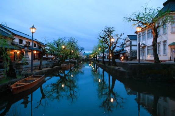 倉敷美観地区まで徒歩3分。和と洋が融合した美しい町並み。美観地区を庭のように楽しんでいただけます。
