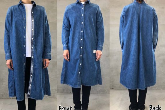 【新商品】 Ladies LONG SHIRT