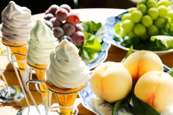 果物王国・岡山が誇る果物をふんだんに使ったオリジナルSWEETS!