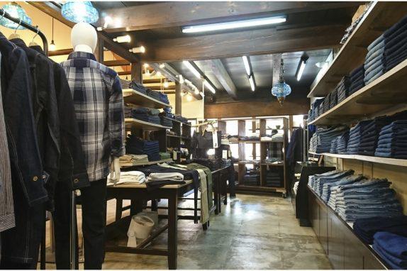 INDIGO HANDS内観(JAPAN BLUE JEANS倉敷店)