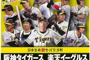 プロ野球公式戦「みんなで行こう!!プロ野球in倉敷」【阪神VS広島】