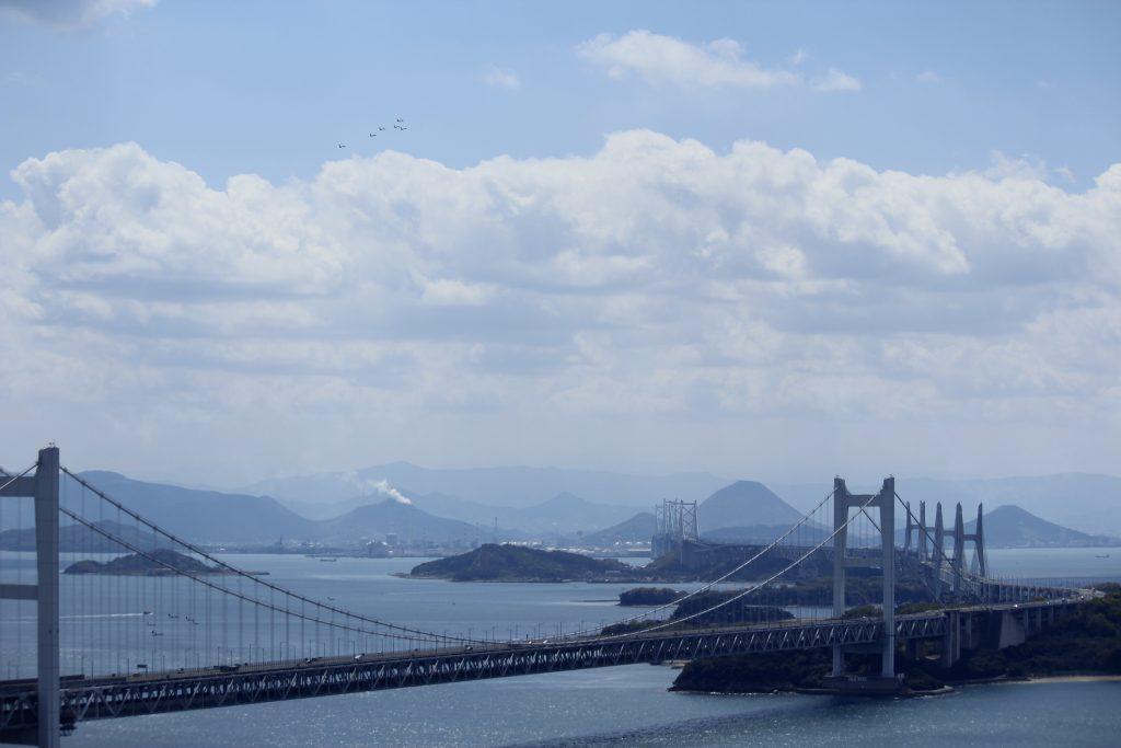 ブルーインパルス~瀬戸大橋開通30周年記念~2018