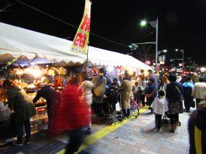 第12回新倉敷駅前通りイルミネーション点灯式