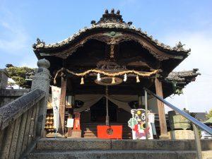 備中甕江座・村芝居「熊田 恰」in 羽黒神社