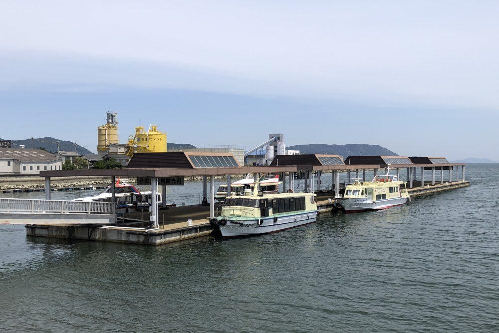 児島観光港のビジターバース運用がはじまります!の写真1