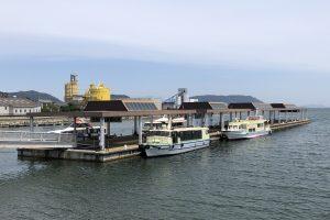 児島観光港のビジターバース運用がはじまります!