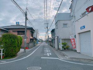 西阿知駅周辺~歴史散策~